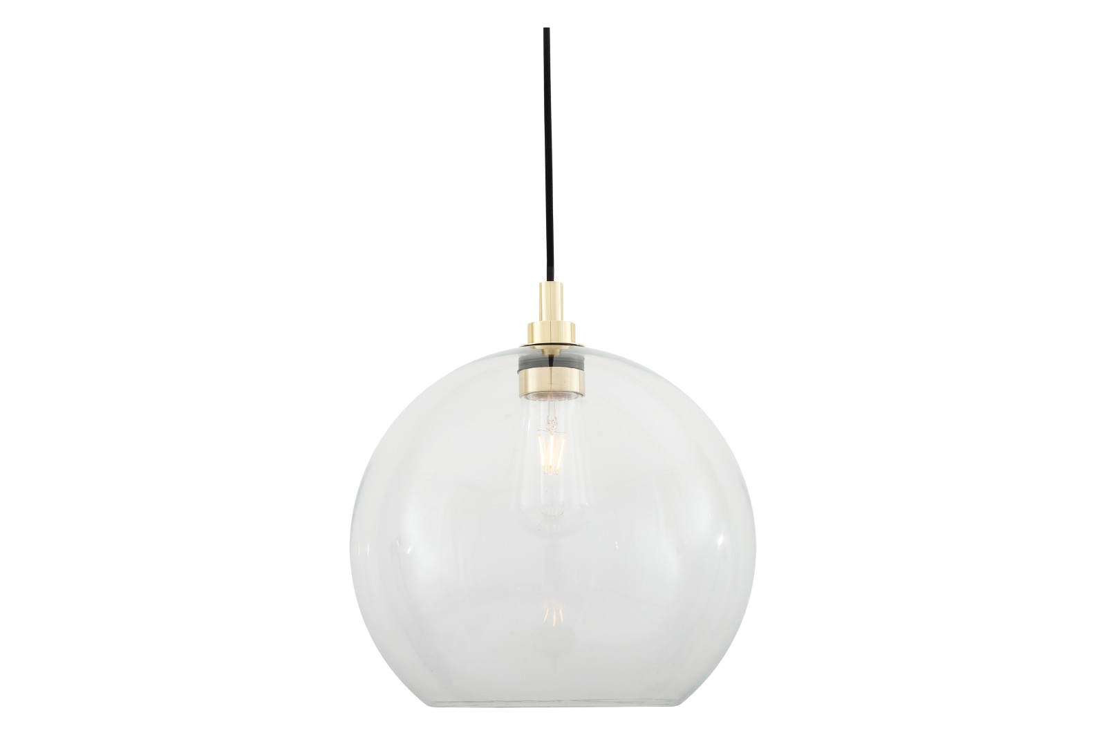 Leith Pendant Light Polished Brass