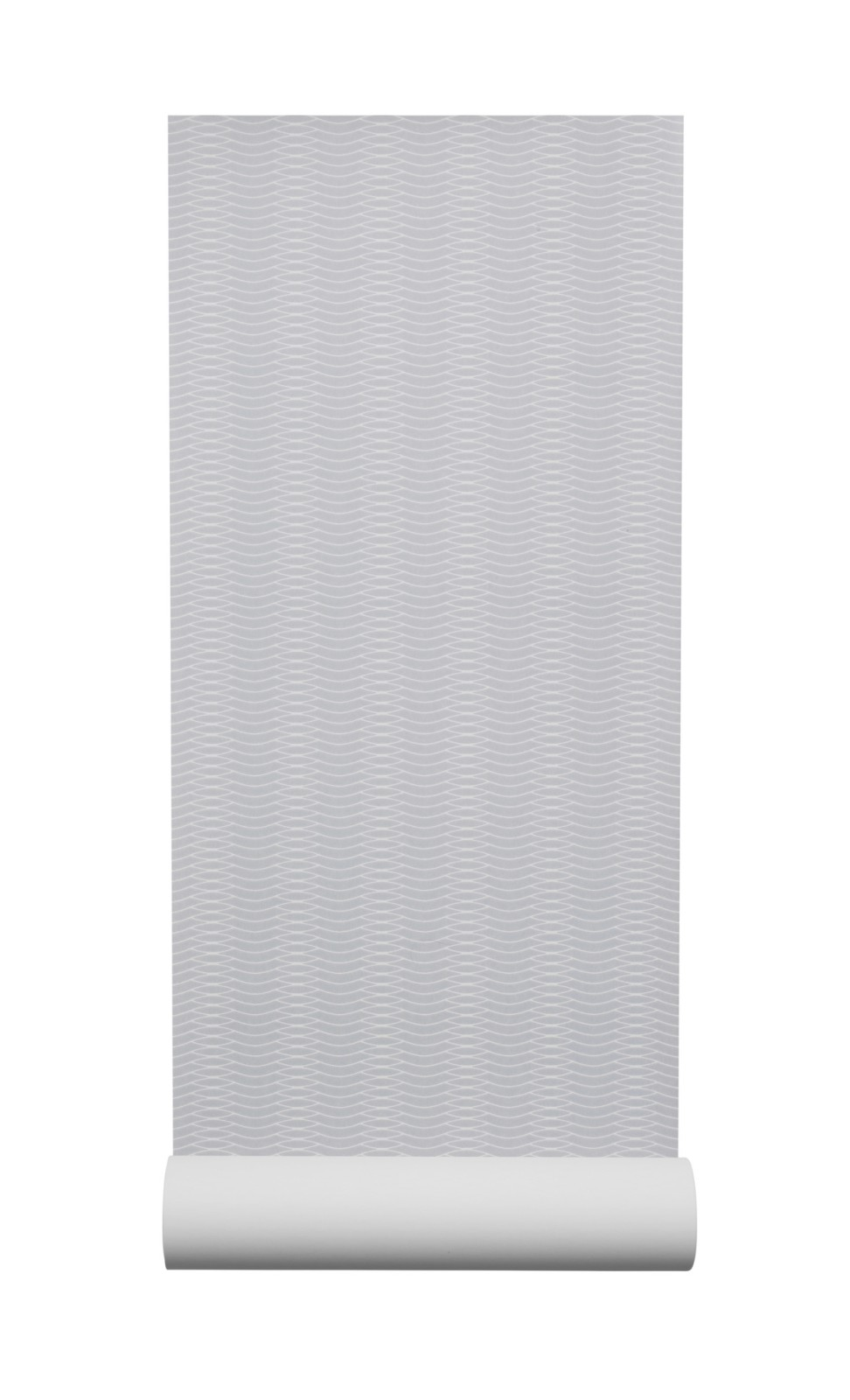 Liinus Wallpaper - Set of 6 Grey with White Lines