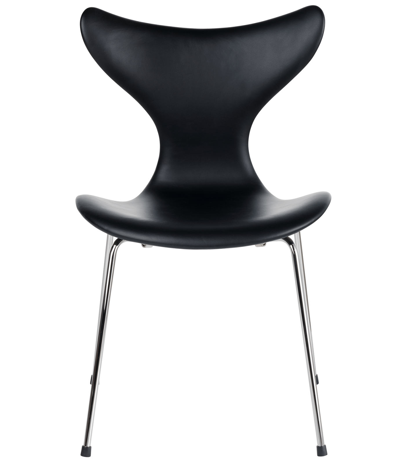 Lily Chair Elegance Leather Black