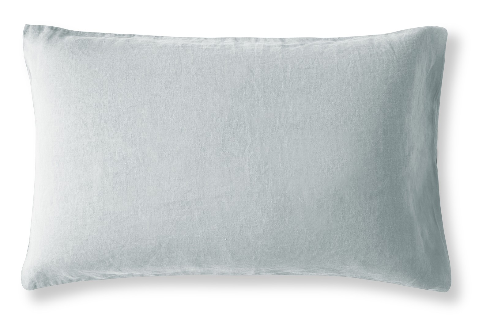 Linen Pillowcase Duck Egg, Housewife