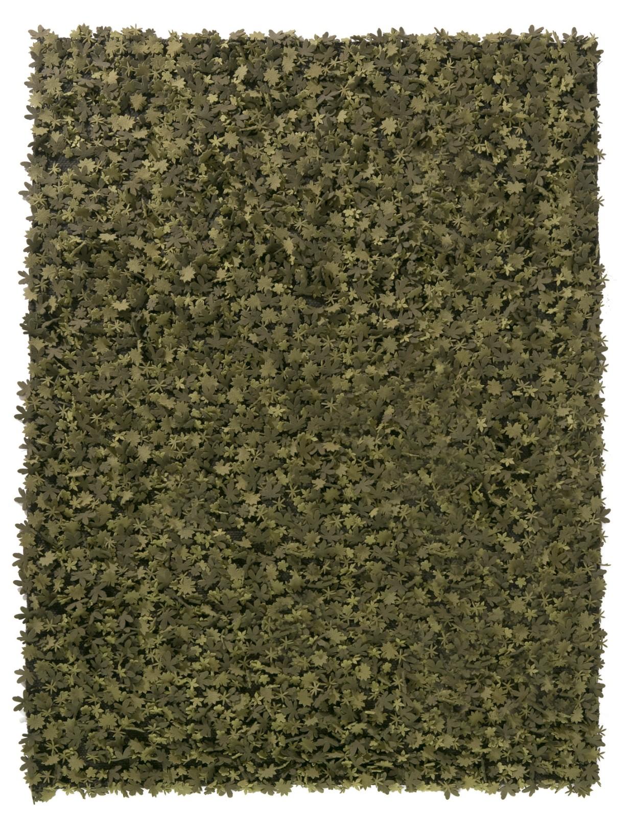 Little field of flowers Rug Green, 170 x 240 cm
