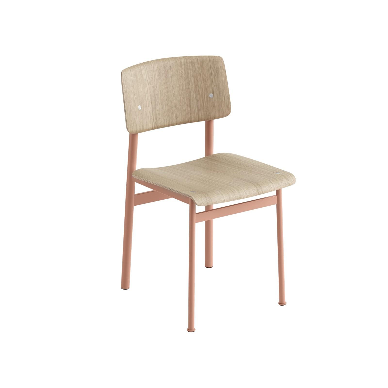 Loft Chair Dusty Rose/Oak