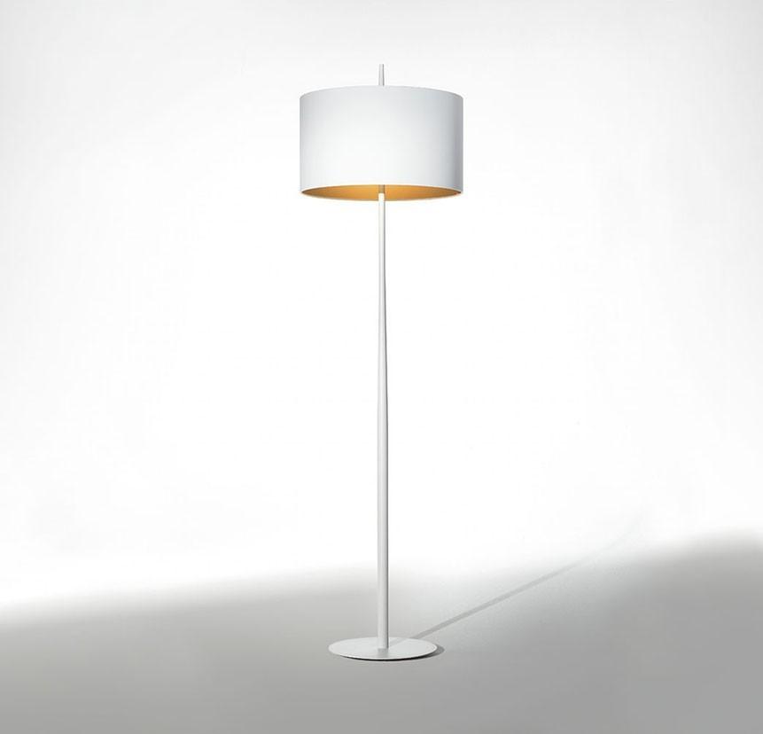 Lola Floor Lamp White/Gold