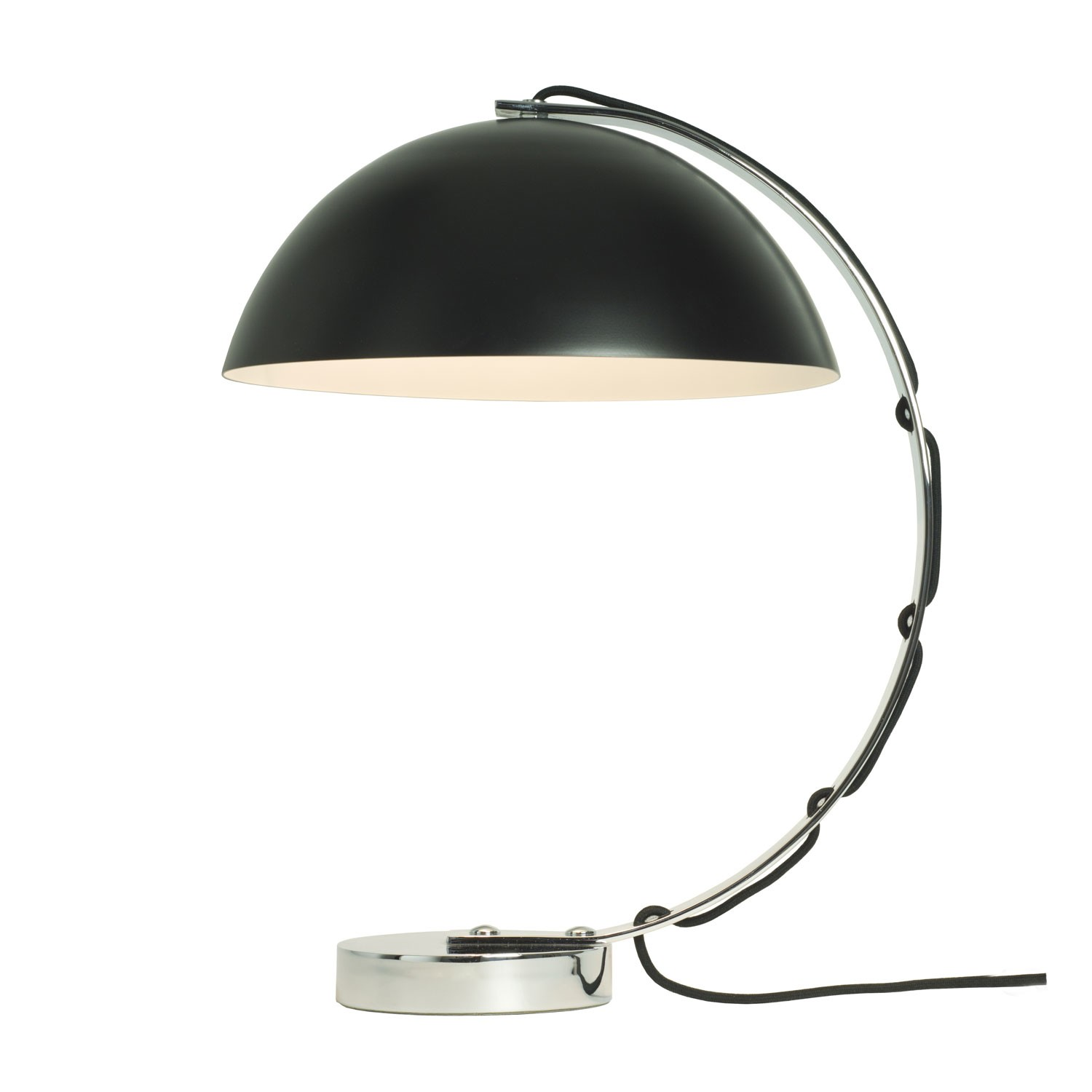 London Table Lamp Black