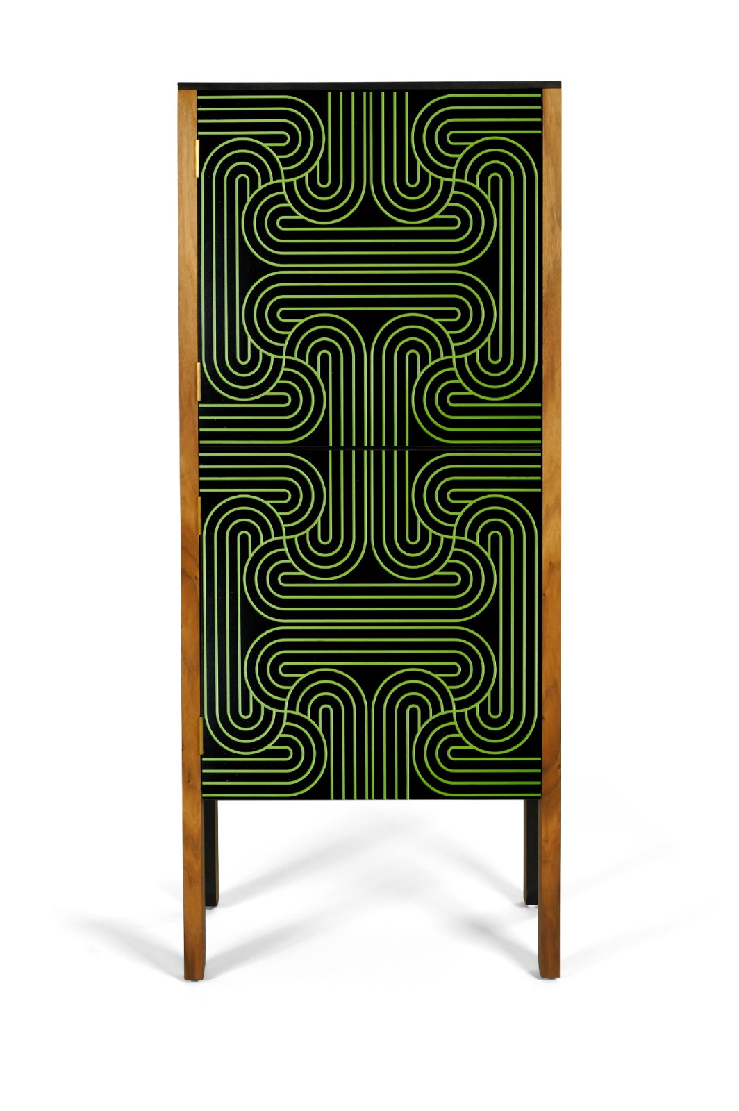 Loop Cabinet Green, High