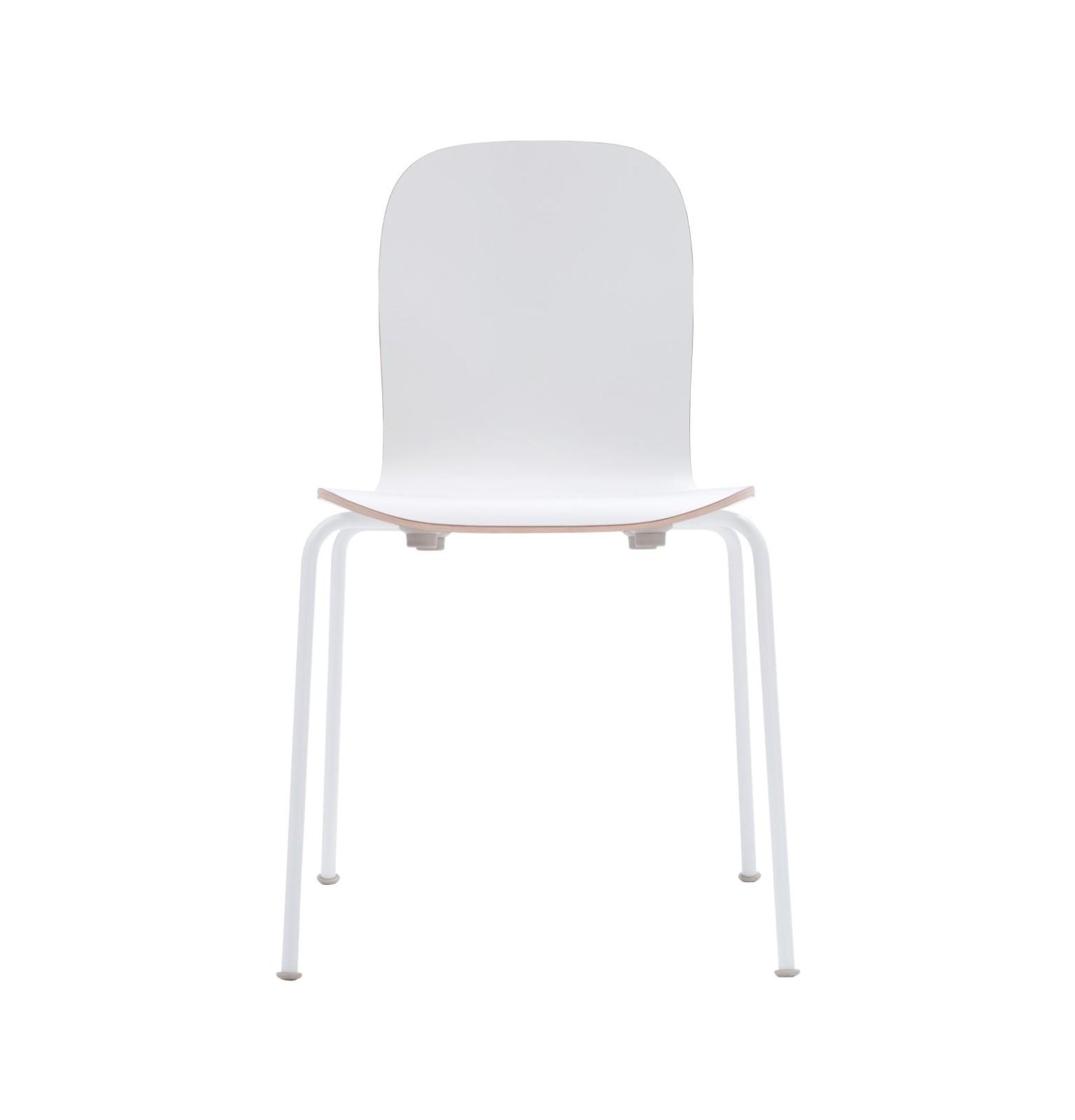 Lounge Chair White Laminate/White/Anthracite