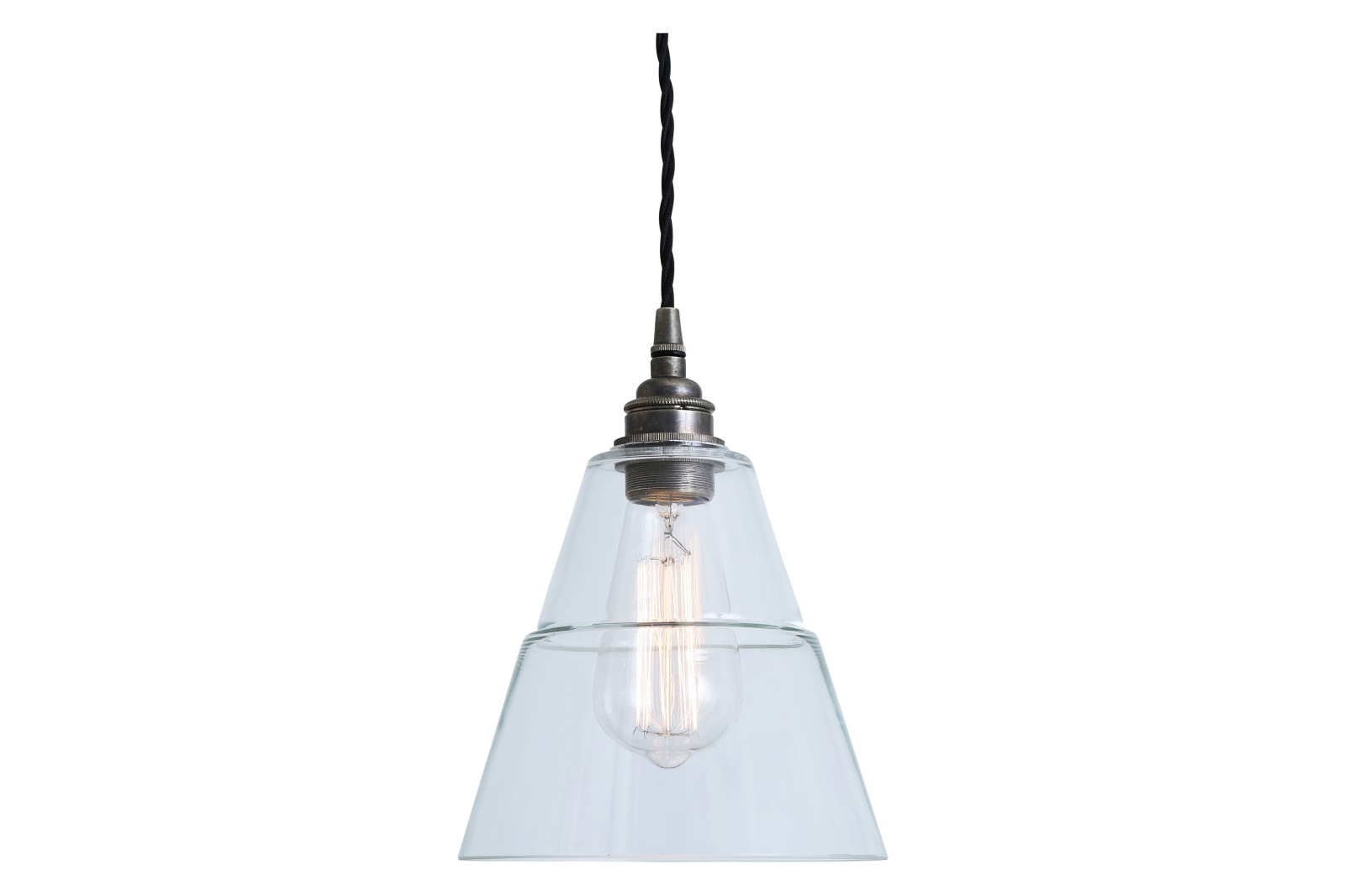 Lyx Pendant Light Antique Silver