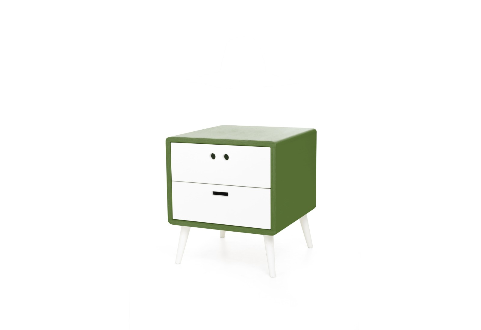 Mário Bedside Table Sleepy Green