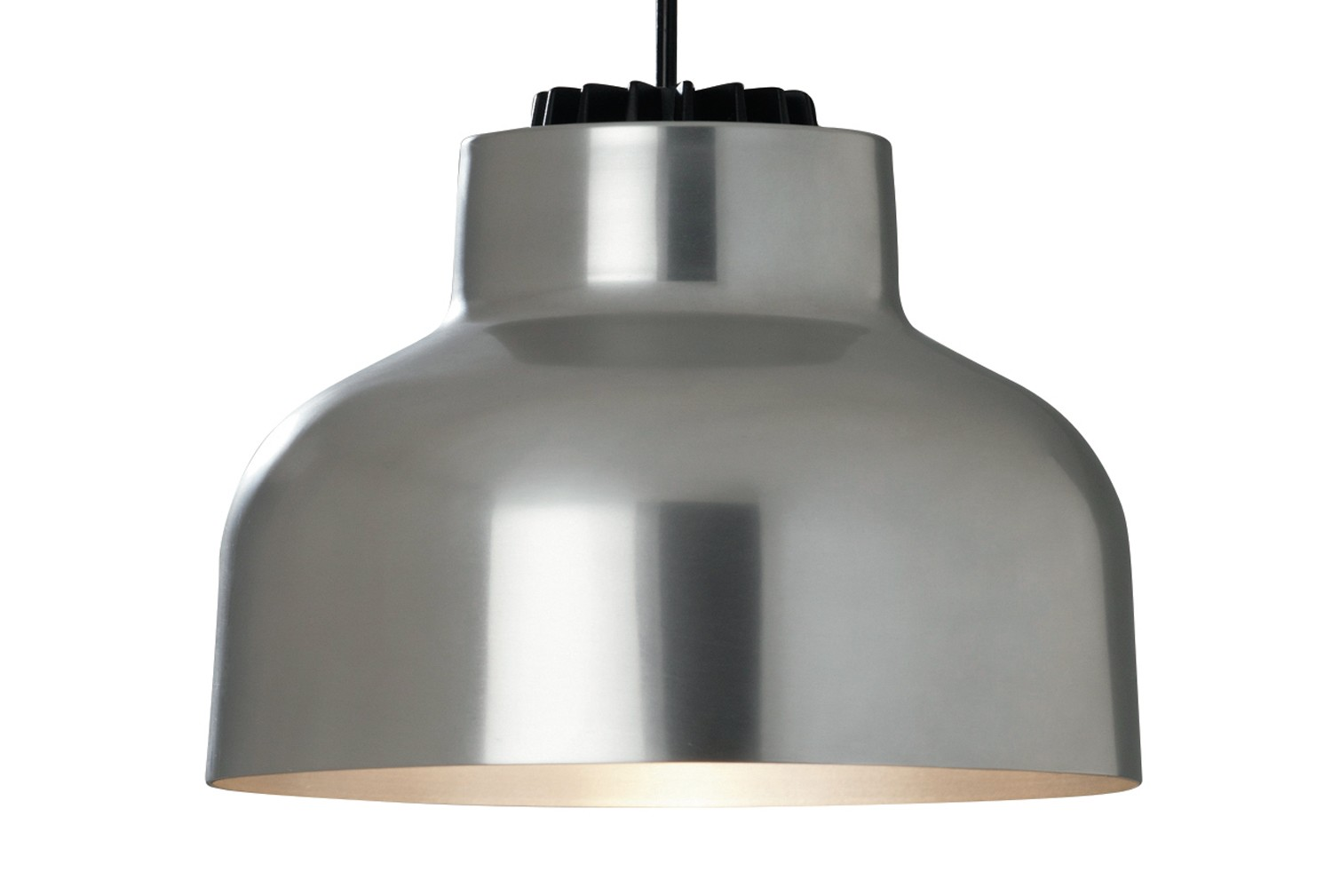 M64 Pendant Light White built-in - Not Dimmable, Polished aluminium, 300