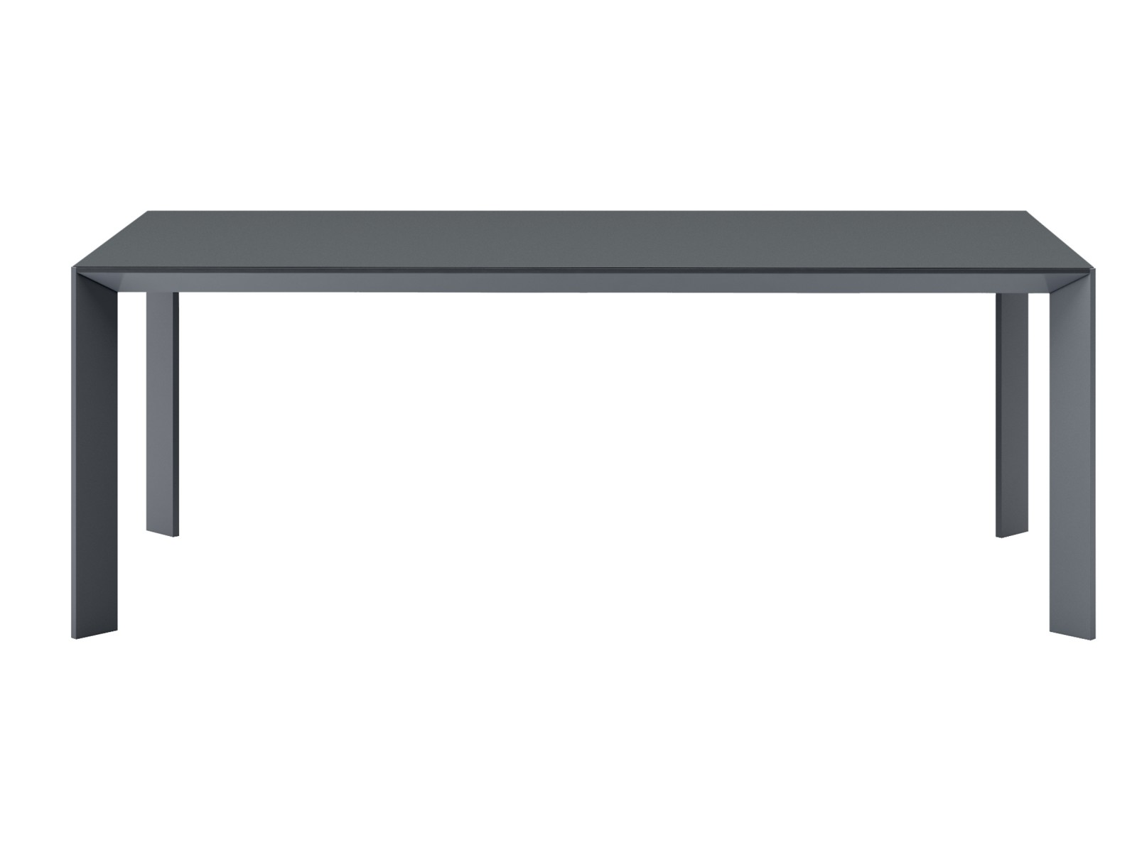 Mac Dining Table B42 Graphite-D85 Concrete-85 x 160-Yes