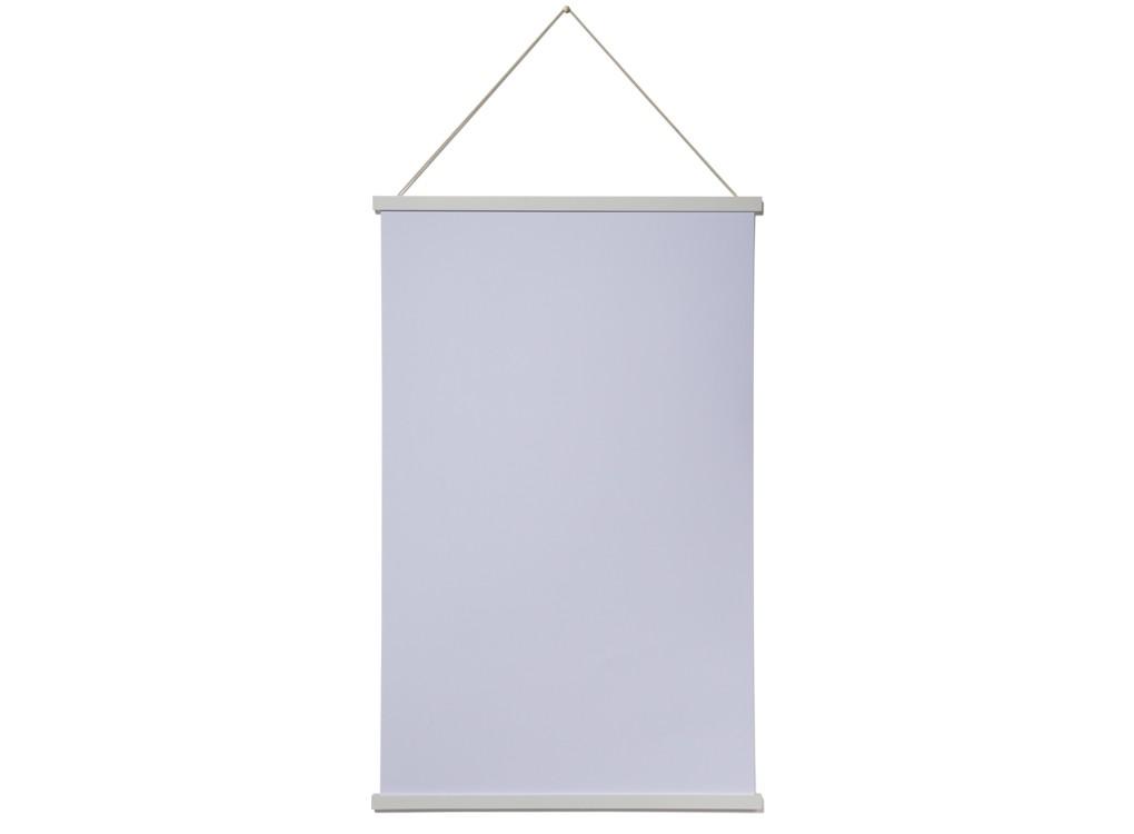 Magnetic Print Frame WHITE - LARGE