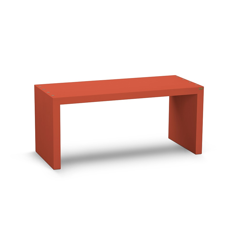 Magnus Bench Orange, 90cm