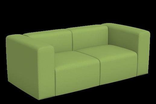 Mags 2 Seater Sofa Divina melange 2 920, CMHR - No