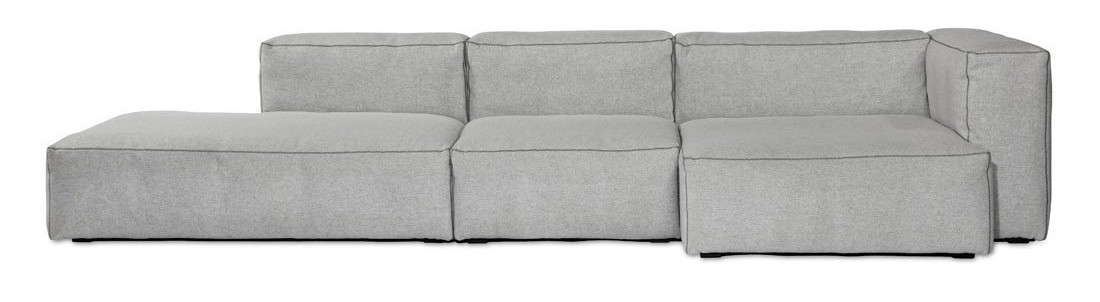 Mags Soft Chaise Lounge Extra Wide Modular Element S8361 - Right Divina Melange 2 120
