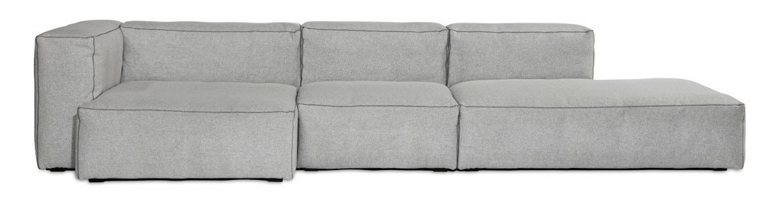 Mags Soft Chaise Lounge Extra Wide Modular Element S8362 - Left Divina Melange 2 120