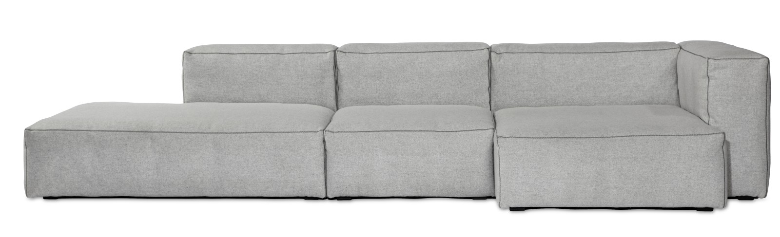 Mags Soft Chaise Lounge Short Modular Element S8261 - Right Divina Melange 2 120