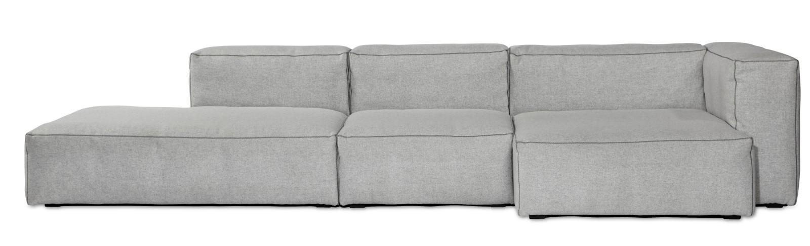 Mags Soft Chaise Lounge Short Modular Element S8262 - Left Hallingdal 65 100