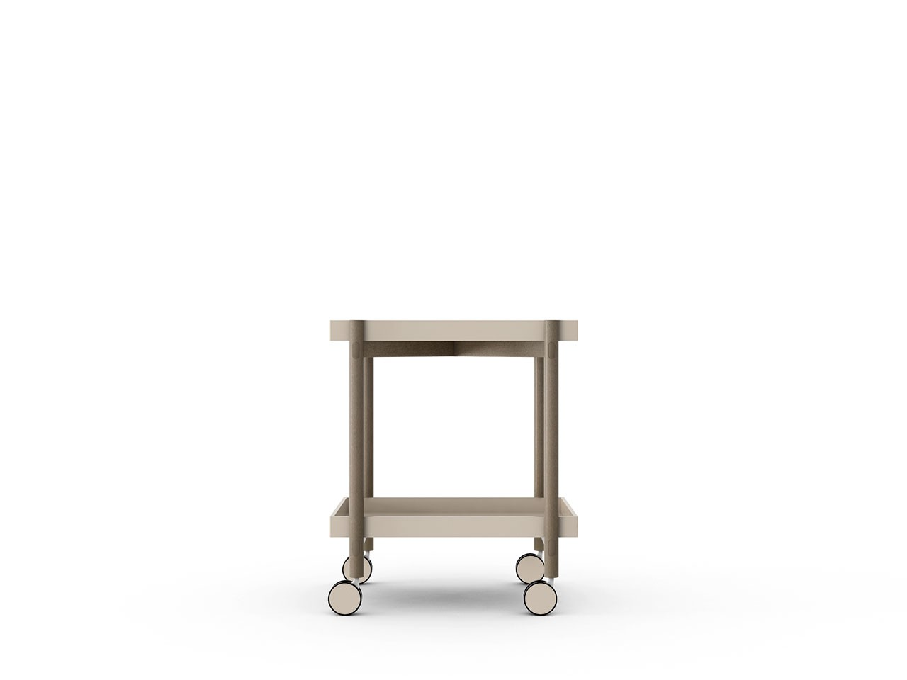 Mai Tai Trolley Sand Texturised Lacquered, Siena Grey Stained Oak