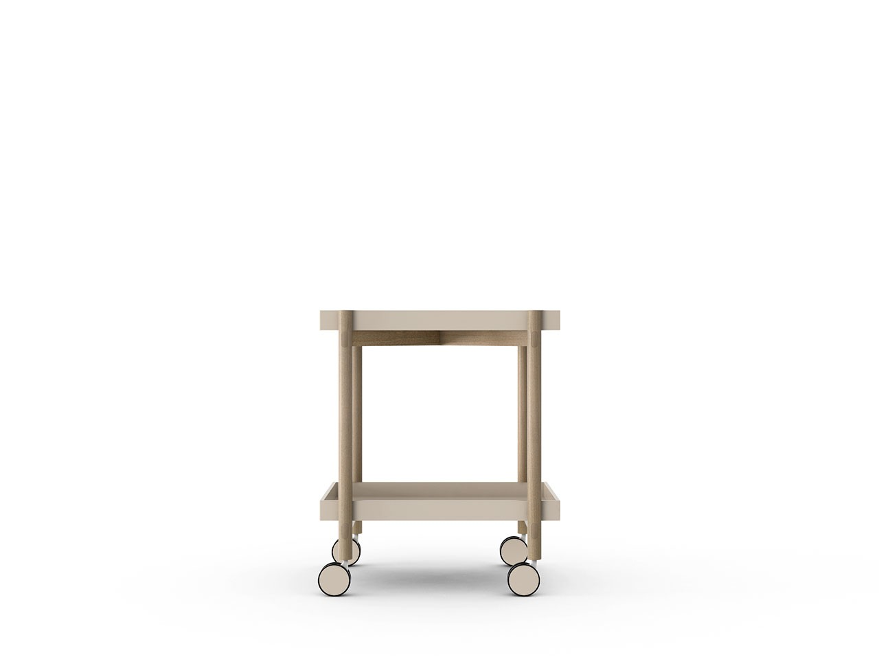 Mai Tai Trolley Sand Texturised Lacquered, Whitened Oak