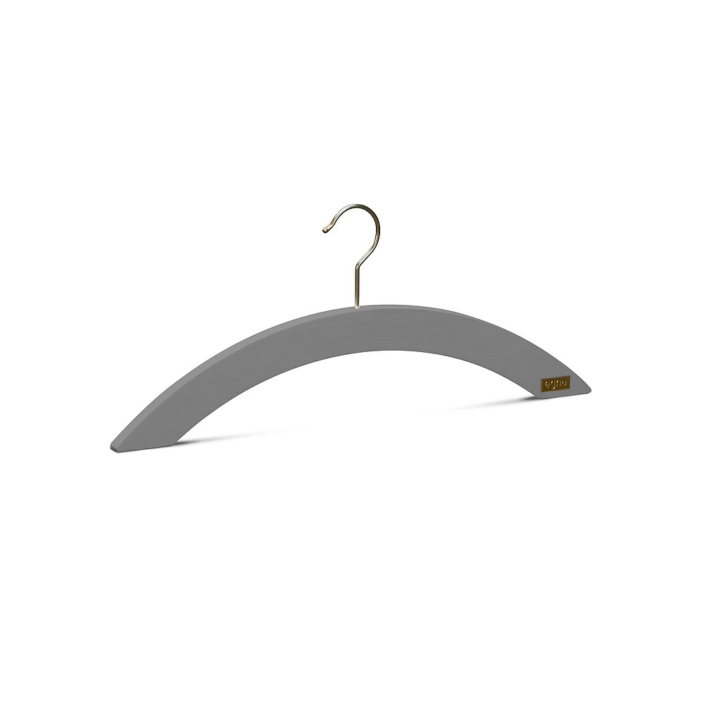 Malin Hangers, Pack of 5 Grey brown