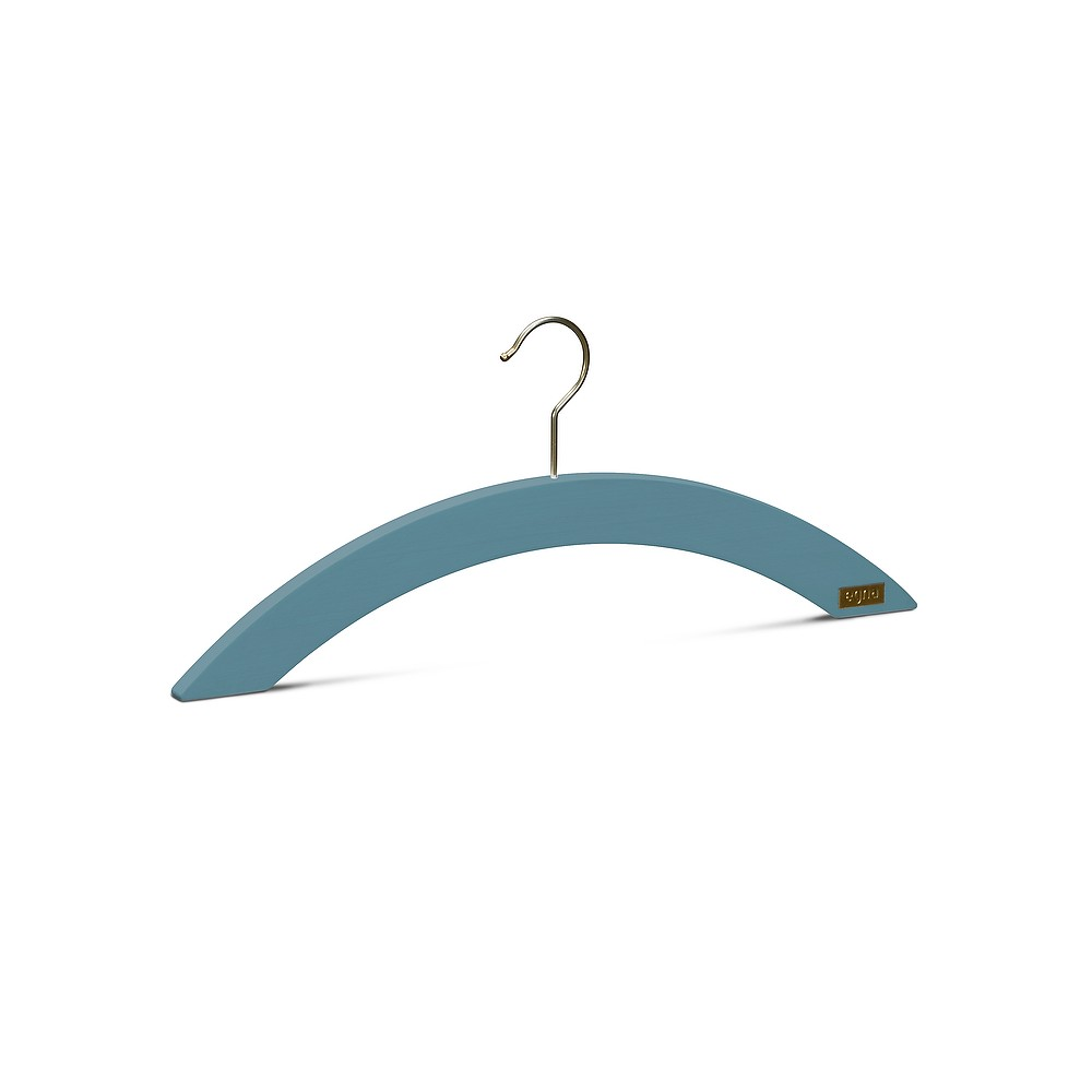 Malin Hangers, Pack of 8 Turquoise