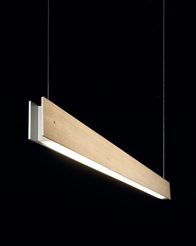 Marc Suspension Lamp Oak, 1L, LED, No, 70