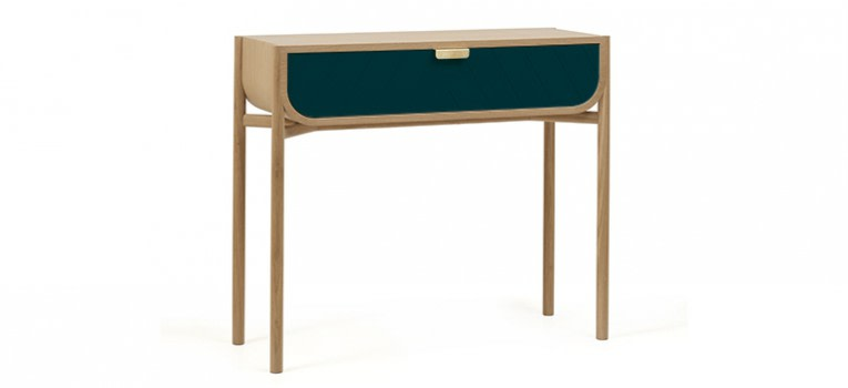 Marius Console Table Petrol Blue