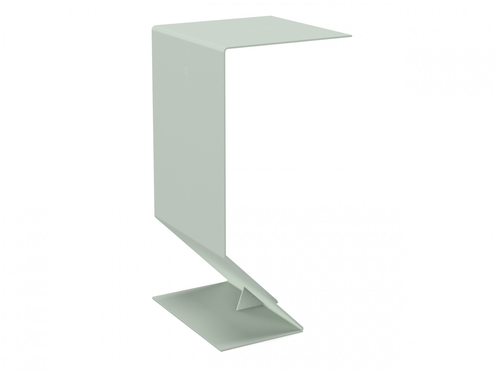 Mark Side Table Quartz green