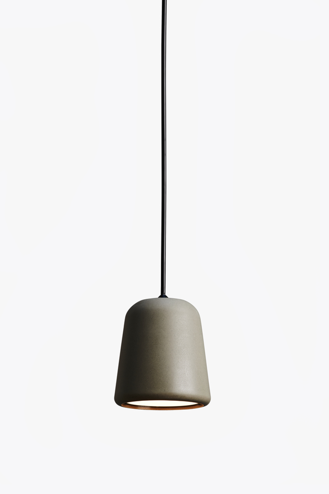 Material Pendant Light Dark Grey Concrete