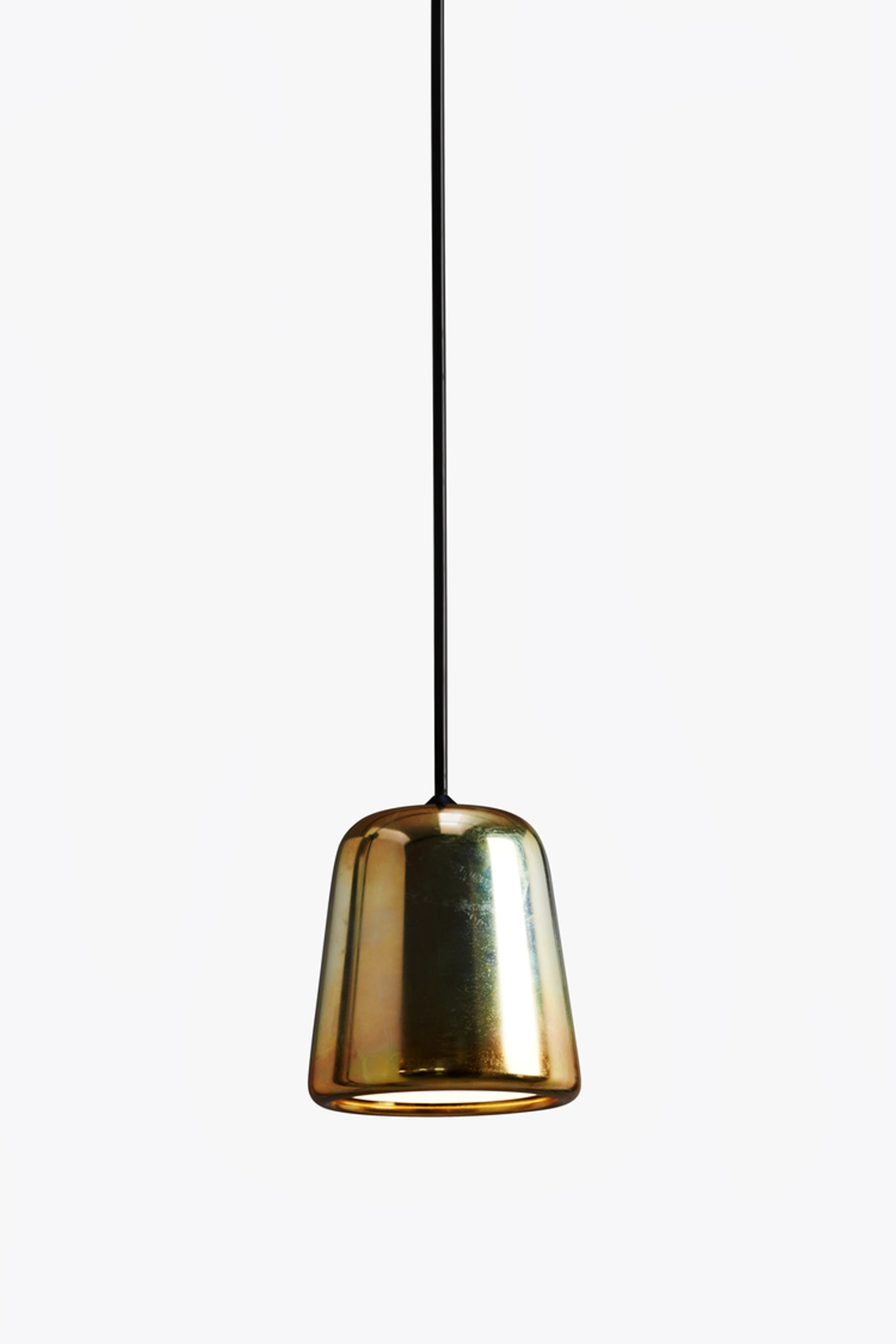 Material Pendant Light Yellow Steel