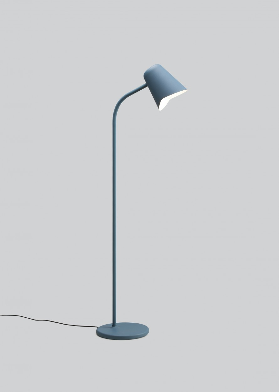 Me Floor Lamp Petrol Blue