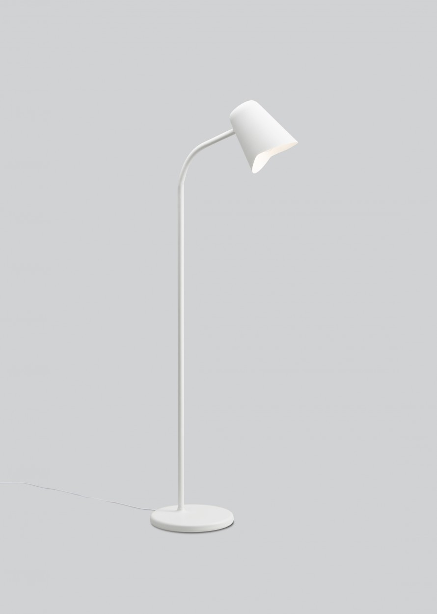Me Floor Lamp White