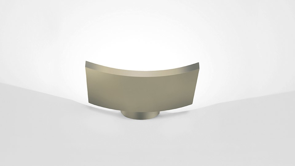Microsurf Wall Light Gold