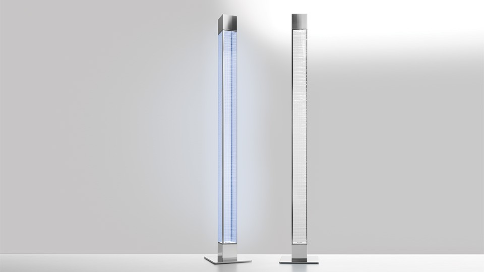 Mimesi Floor Lamp Transparent