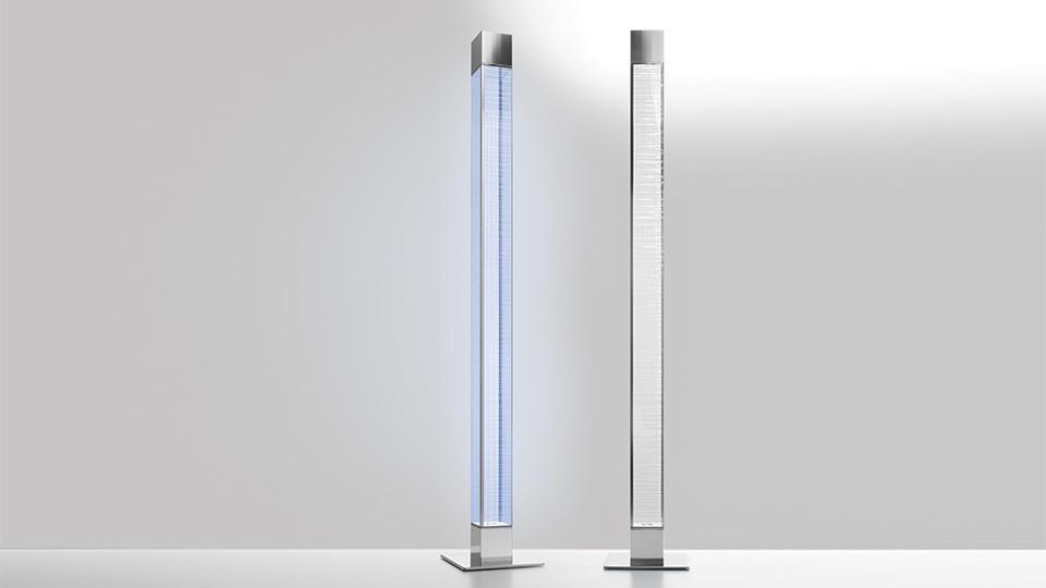 Mimesi Floor Lamp Transparent