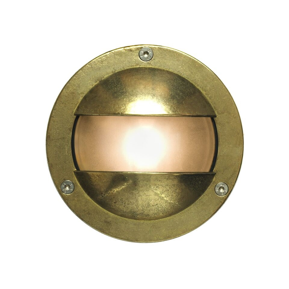 Miniature Exterior Bulkhead 8037 Brass, G9