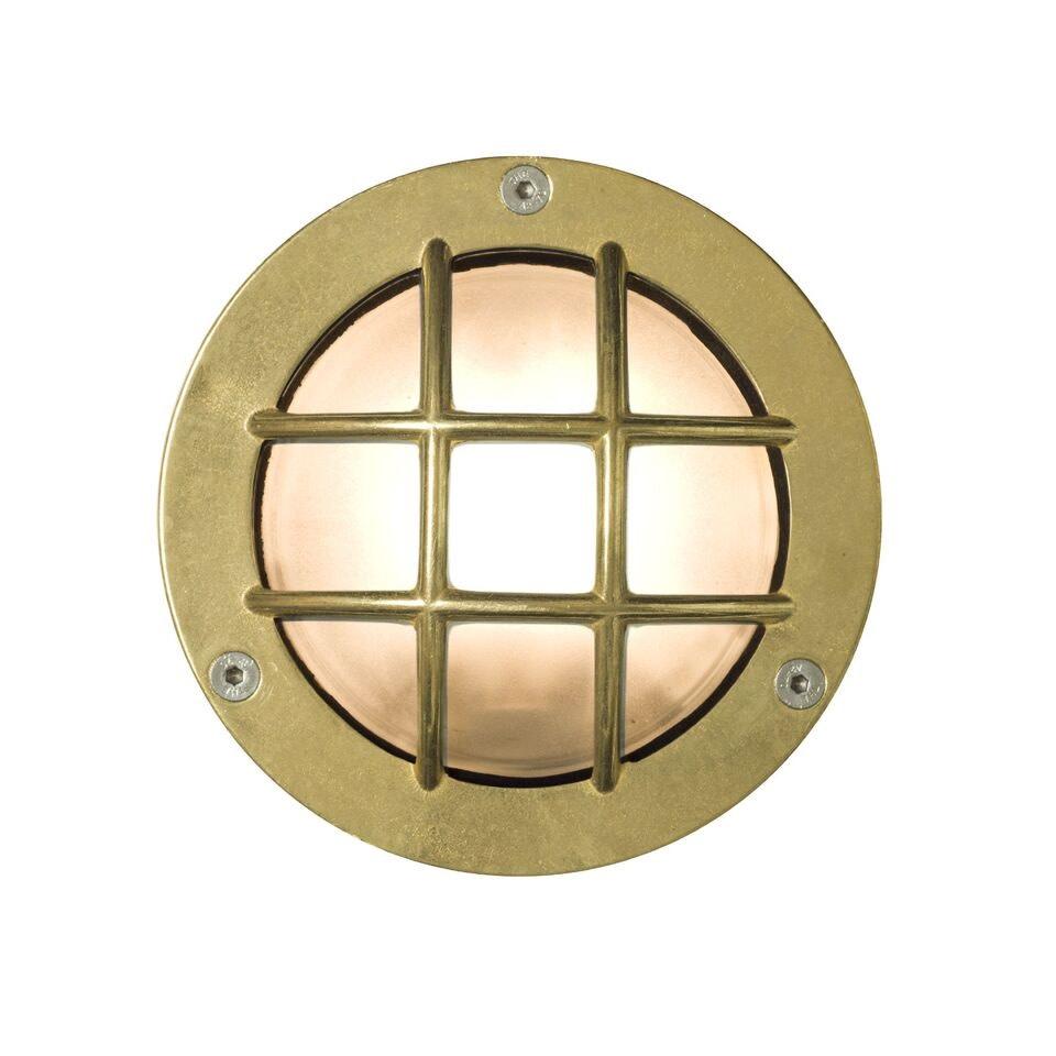 Miniature Exterior Bulkhead 8038 Brass, G9