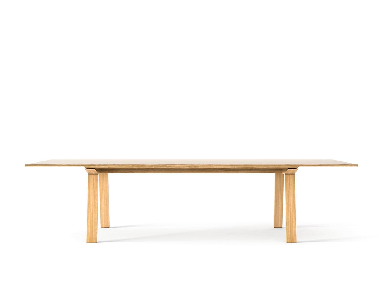 Mitis Dining Table, Rectangular Super-matt Oak, Super-matt Oak, 300cm
