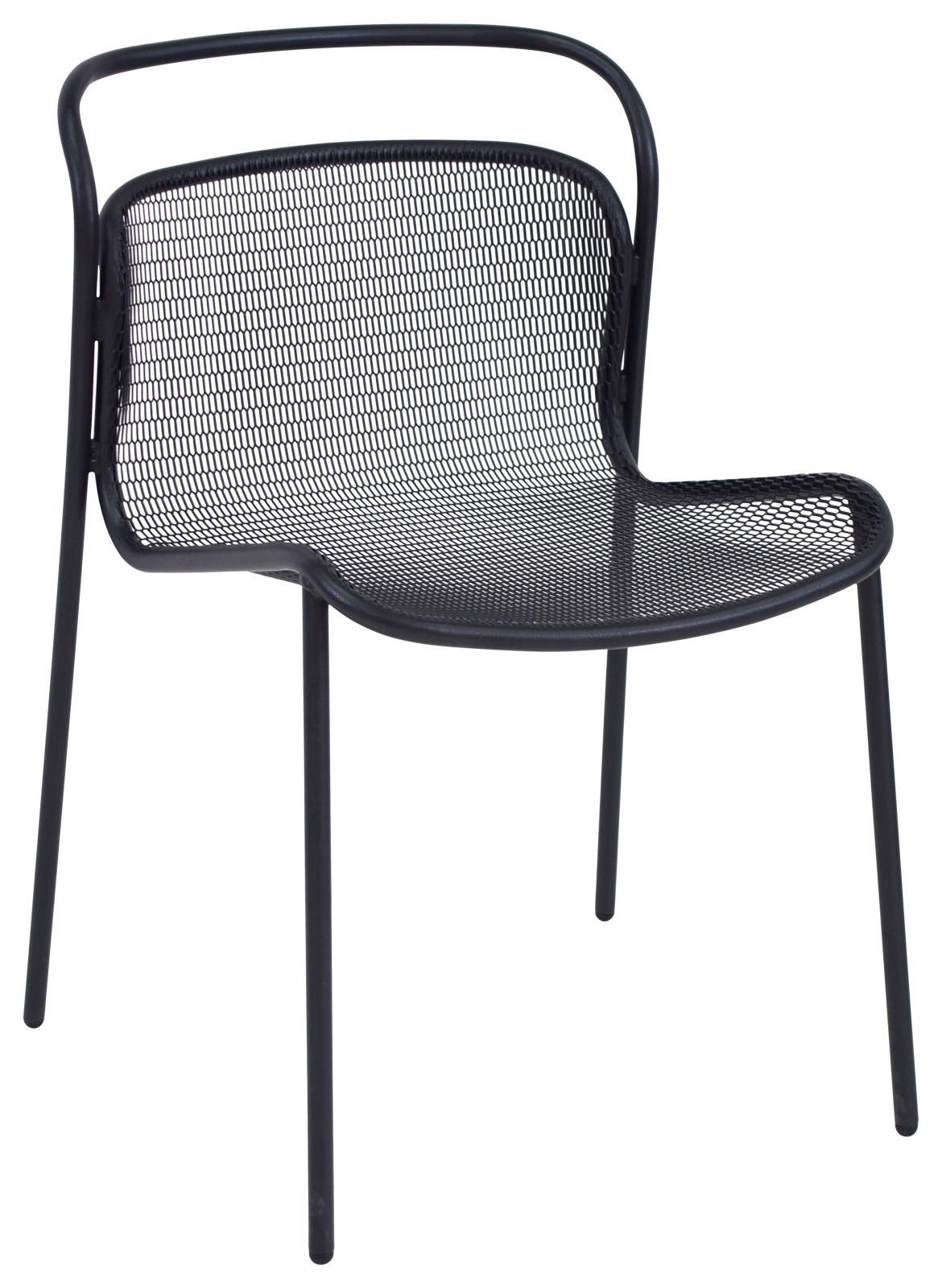 Modern Dining Chair - Set of 4 Black 24