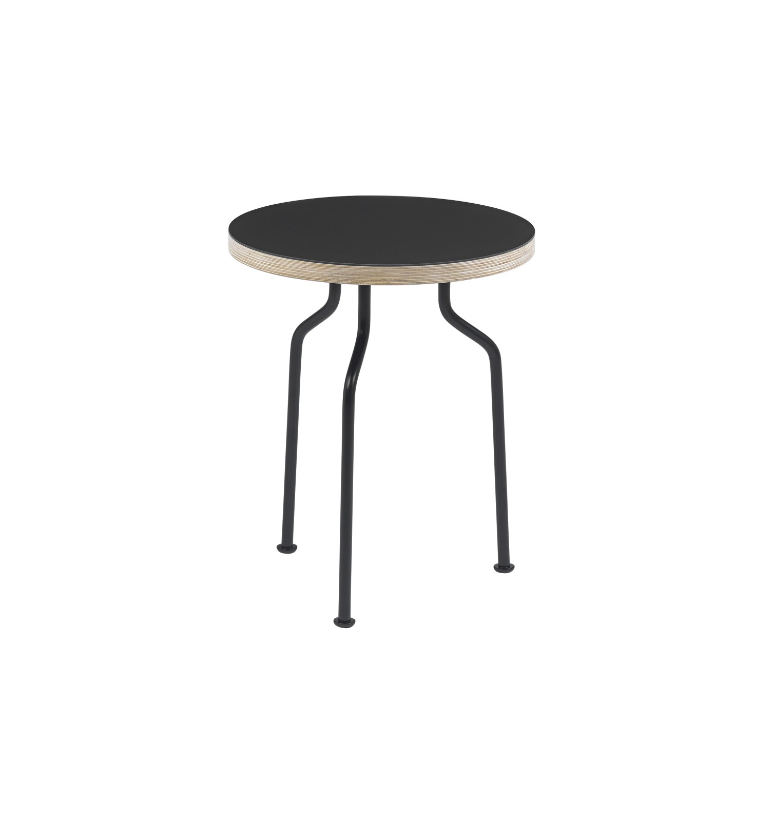 Modern Line Side Table Nero