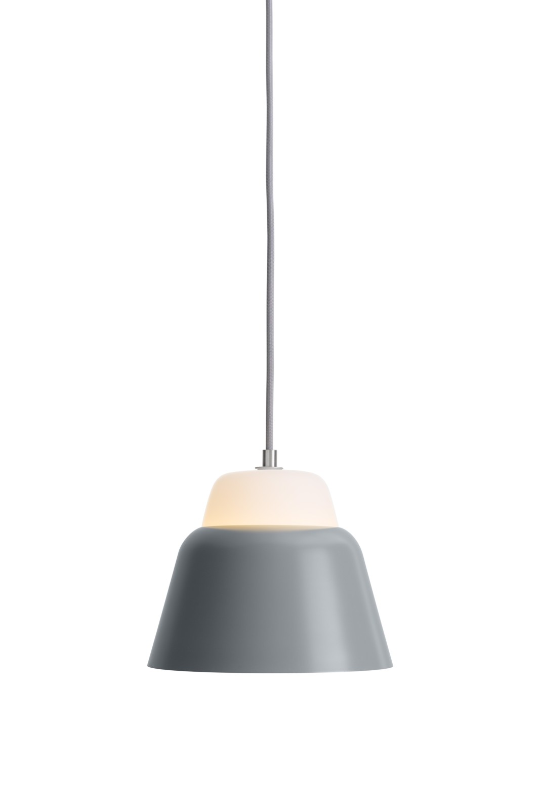 MODU Pendant Light Small Glass & Gray