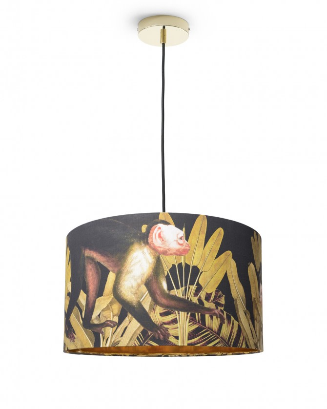 Monkey Drum Pendant Light