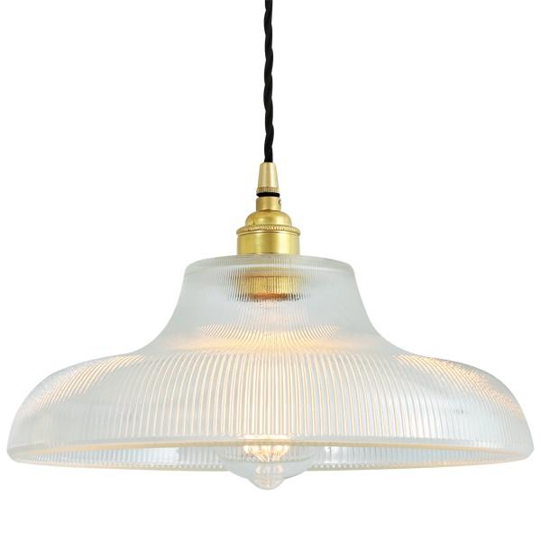 Mono Industrial 38cm Railway Pendant Light Polished Brass