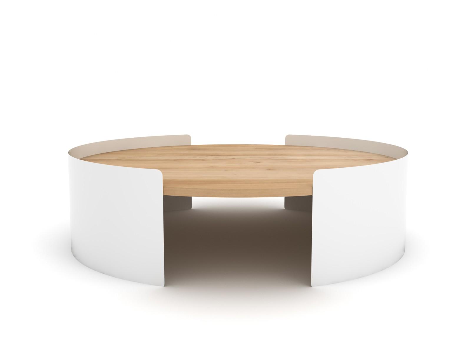 Moon Table White, 100