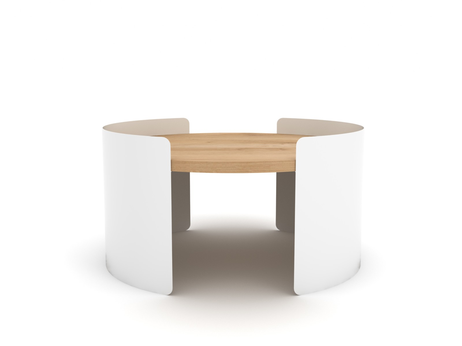 Moon Table White, 55