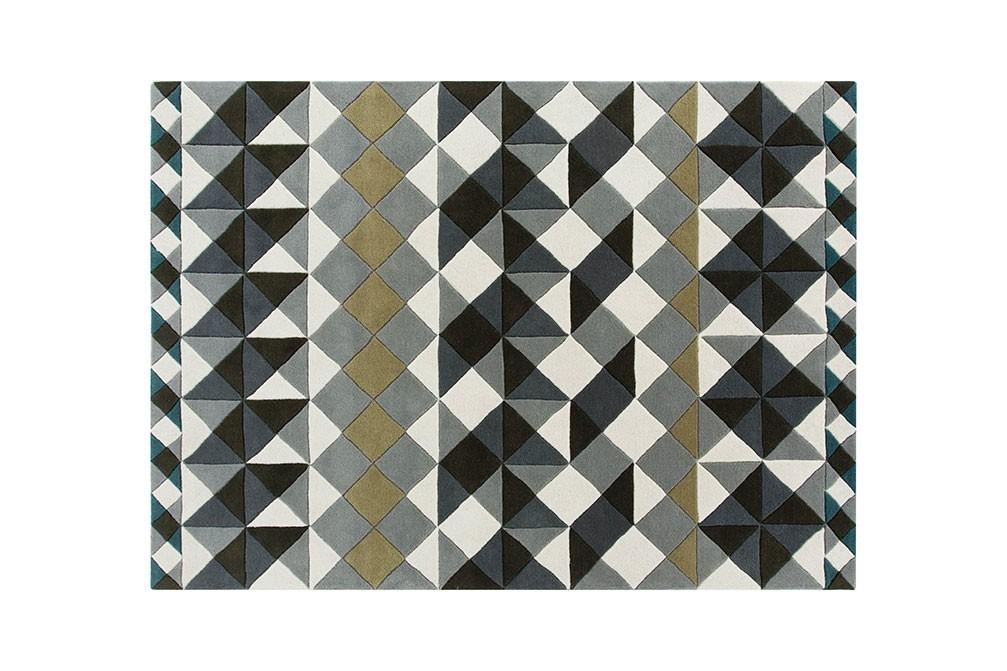 Mosaïek Rug Gray, 170x240 cm