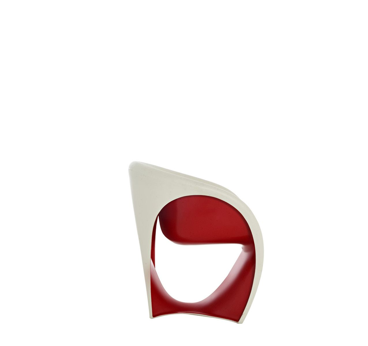 MT1 Armchair Sand White/Red