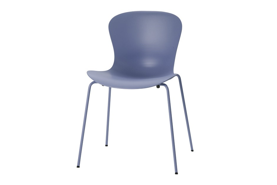 Nap Stackable Chair Nap Sky Blue, Powder Coated