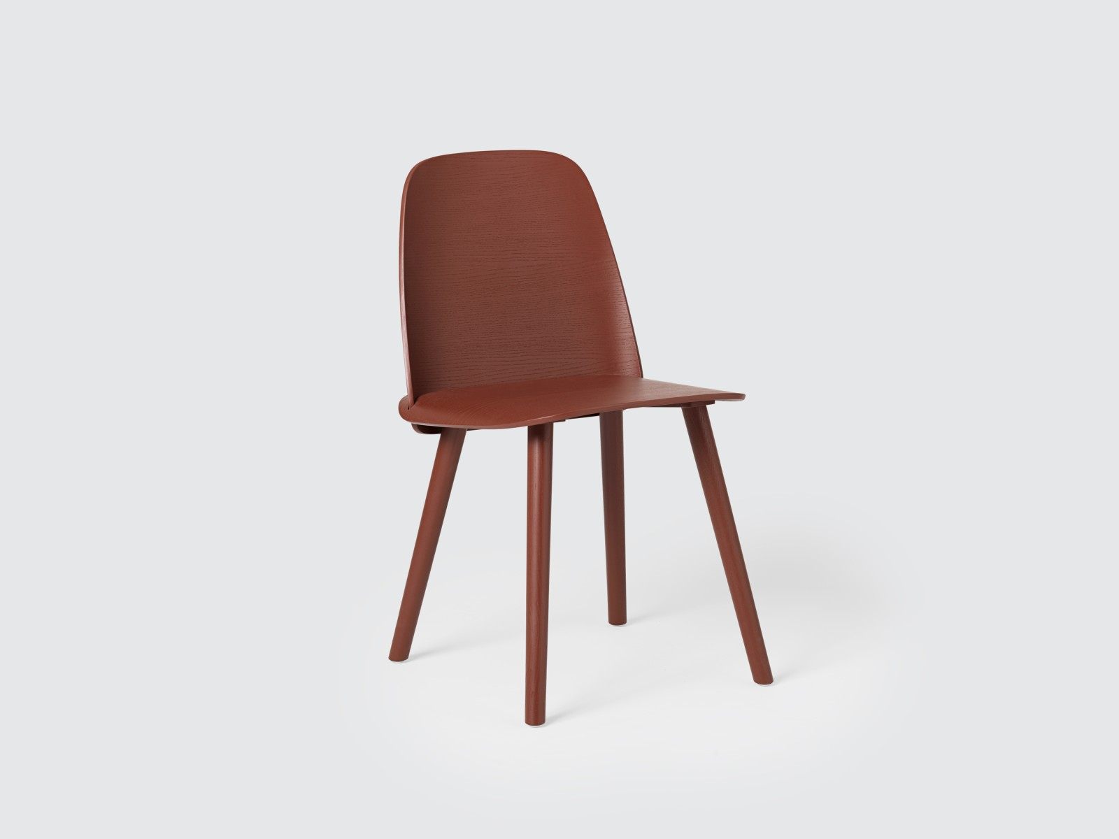 Nerd Chair Dark Red