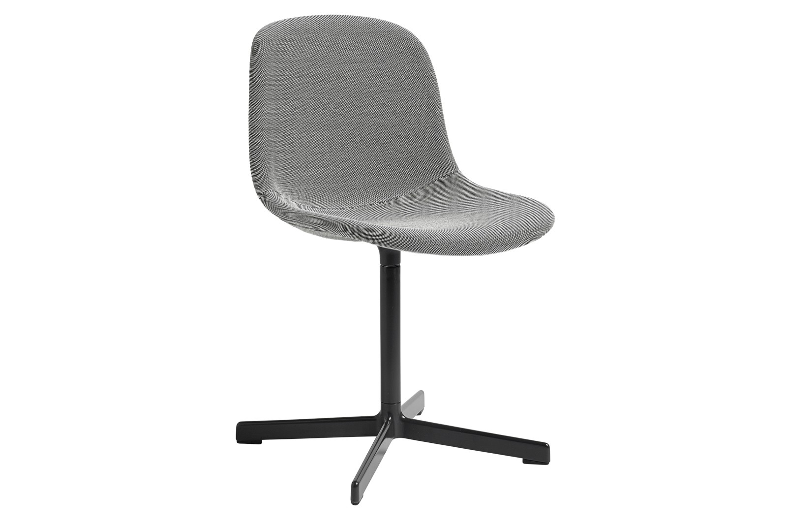 Neu10 Upholstered Chair, Black Base Steelcut 2 110